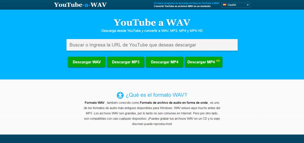 youtube a wav