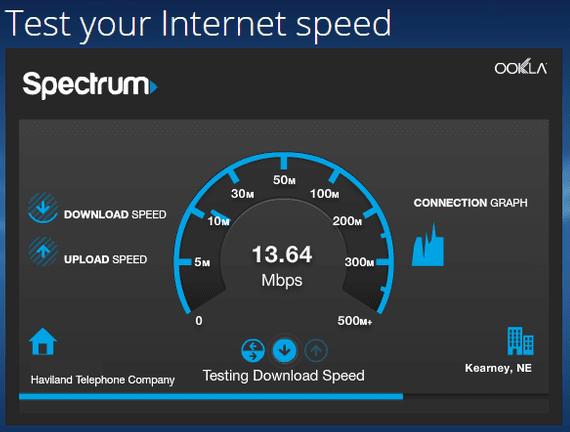 Spectrum Speed Test
